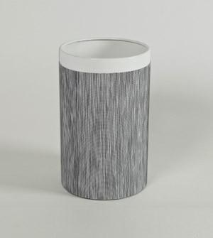 Design Papierkorb mit Überzug aus High-Tech-Stoff