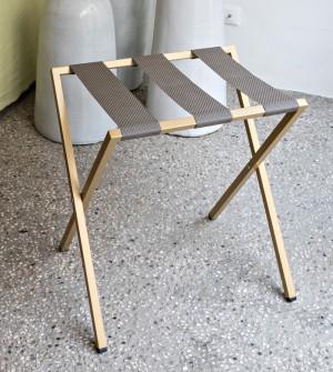 """Kofferträger für Hotel aus Metall """"Case"""""""