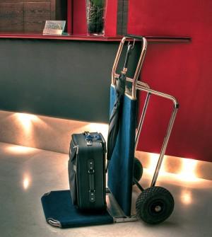 Faltbarer Gepäckwagen