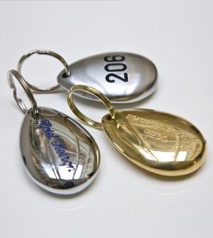 Hotel Schlüsselanhänger mit Nummer