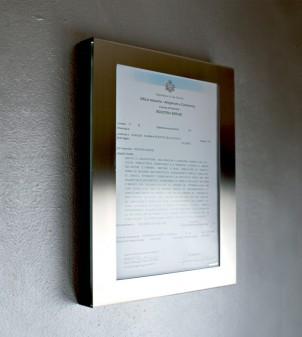Schaukasten für die Wand (A4-Format)
