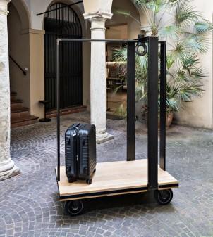 Gepäckwagen BONDY mit 4 Rädern - Hotelbedarf APIR