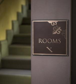 """Hotelschilder aus Messing """"Diva"""""""