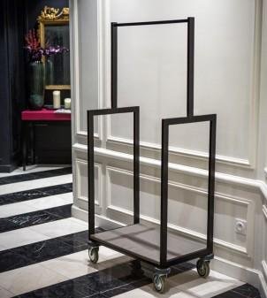 "Gepäckwagen für Hotel ""Duccio"""