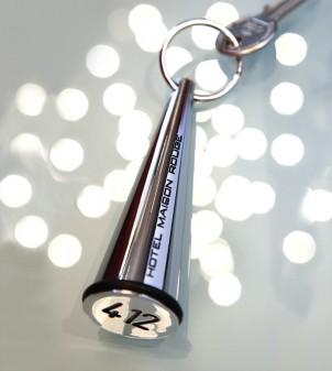 Hotel Schlüsselanhänger aus Metall