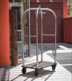 """Hotel Kofferwagen """"Poldo""""  - Kofferwagen - Foyer und öffentlicher Bereich"""
