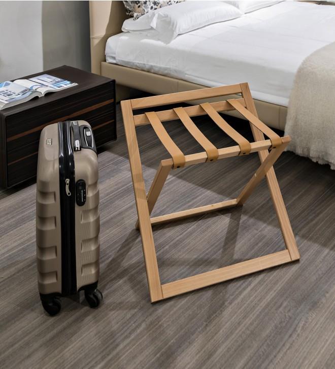 Kofferablage aus Holz