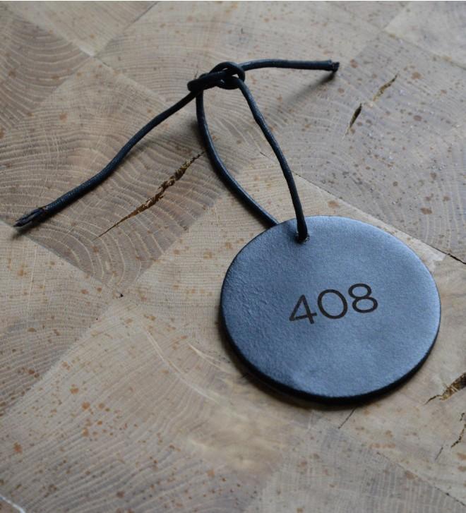 Schlüsselanhänger aus Leder