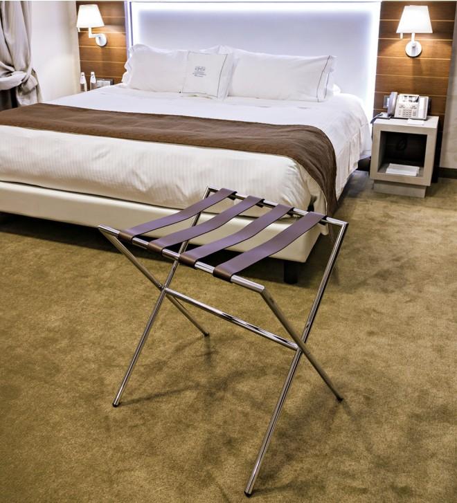Kofferablage für Hotels