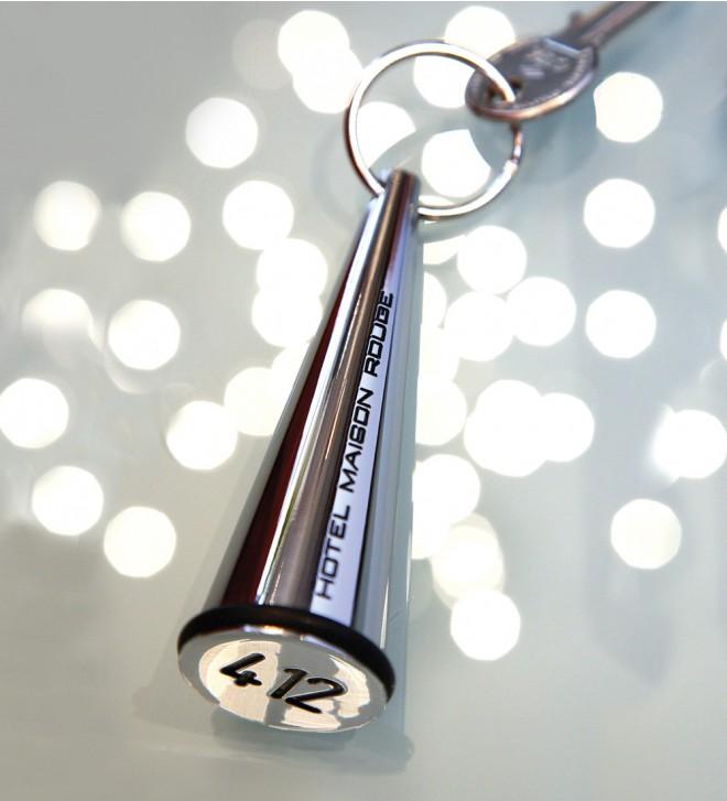 Hotel Schlüsselanhänger Metall