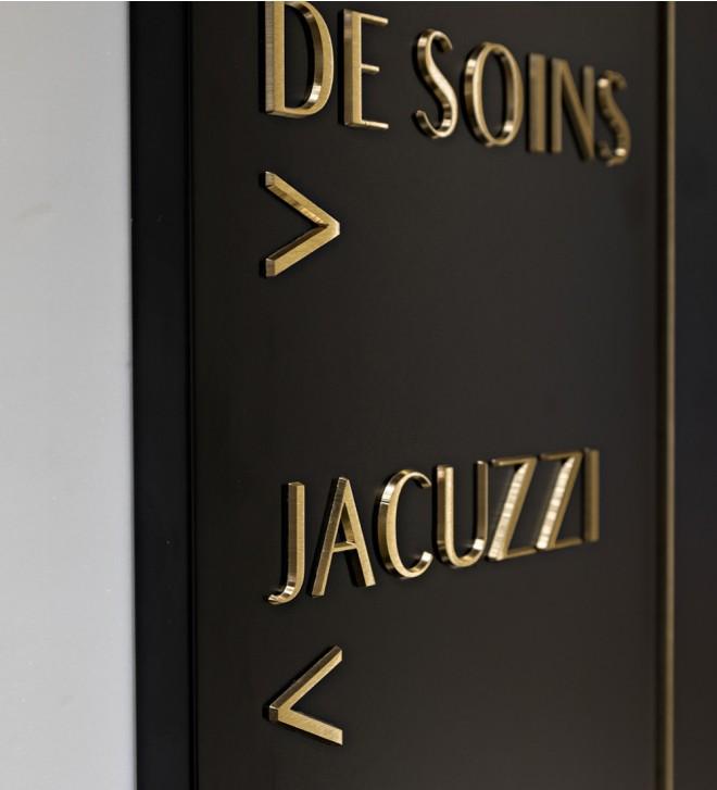 Acrylglas-Schilder, individuell gestaltbar