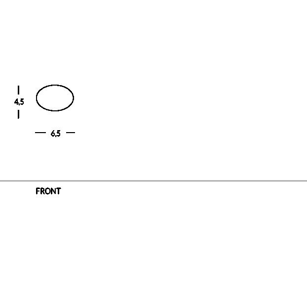 Namensschild für Hotelpersonal. Oval, magnetisch. Aus Messing oder Aluminium, personnalisierbar mit Logo.