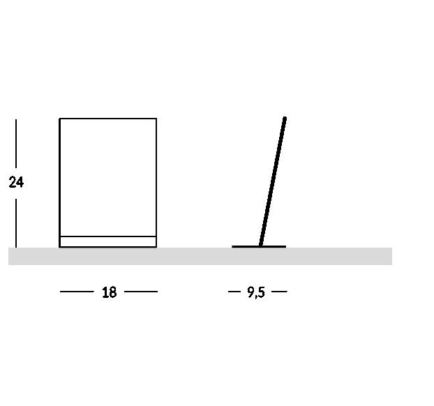 Plexiglas Prospekthalter