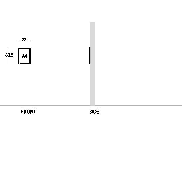 Portacomunicazioni formato A4