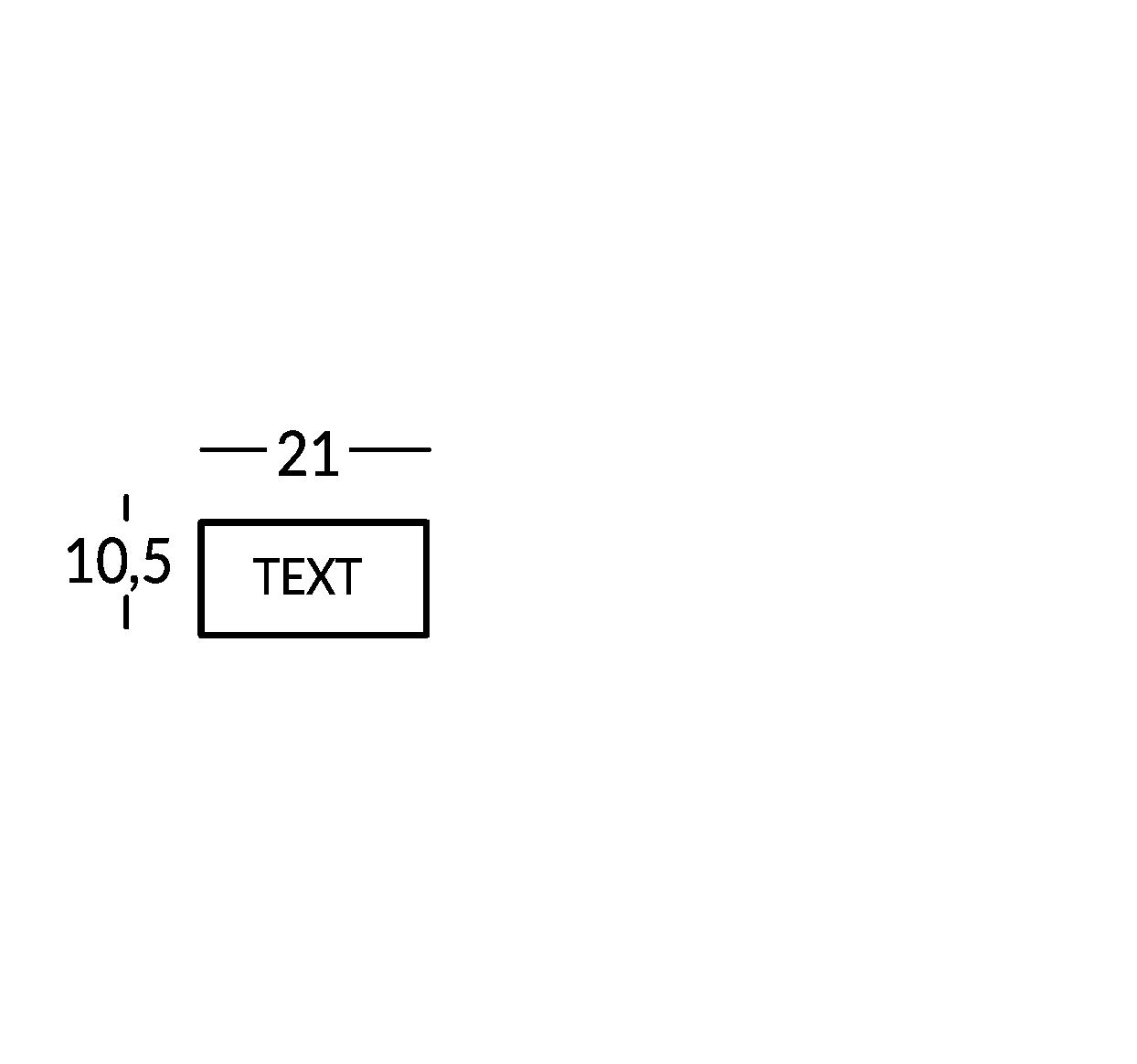 Schild mit 1 Textzeile. Linie Mosca.