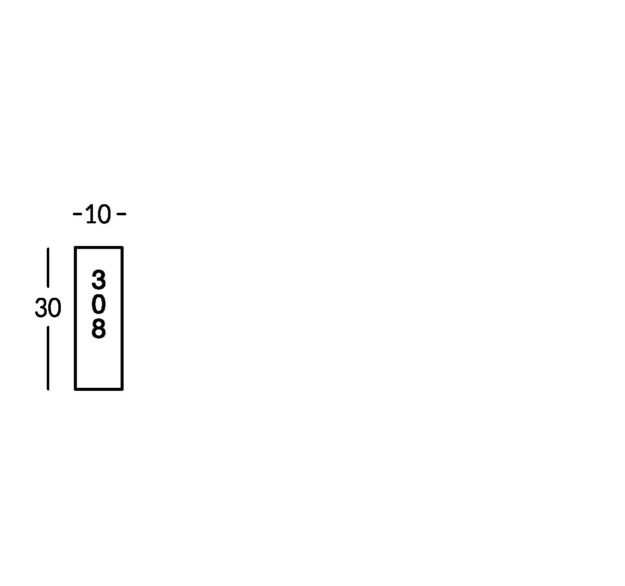 Zimmerschild für Hotel