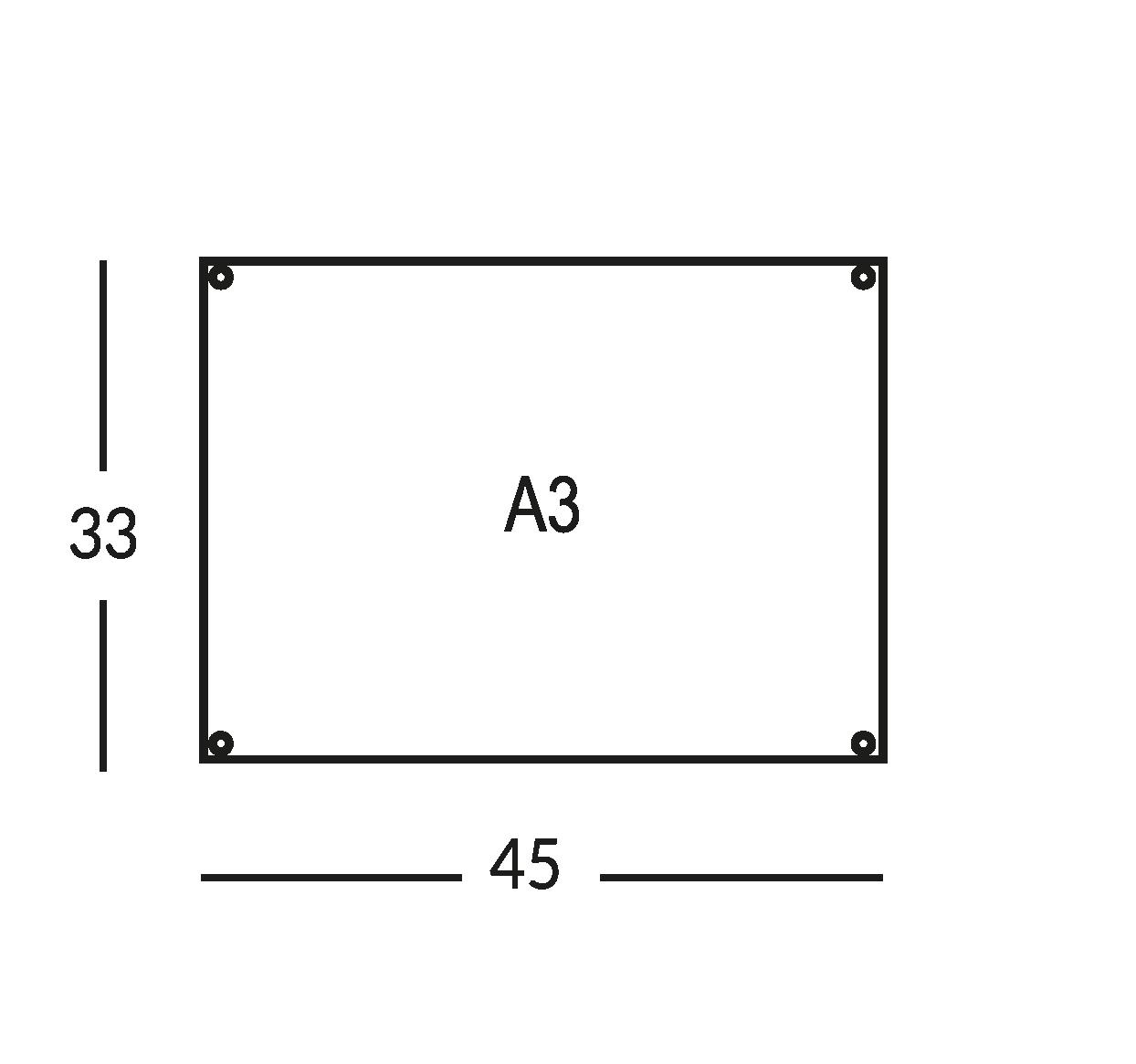 Rahmen für Karte und Wegweiser