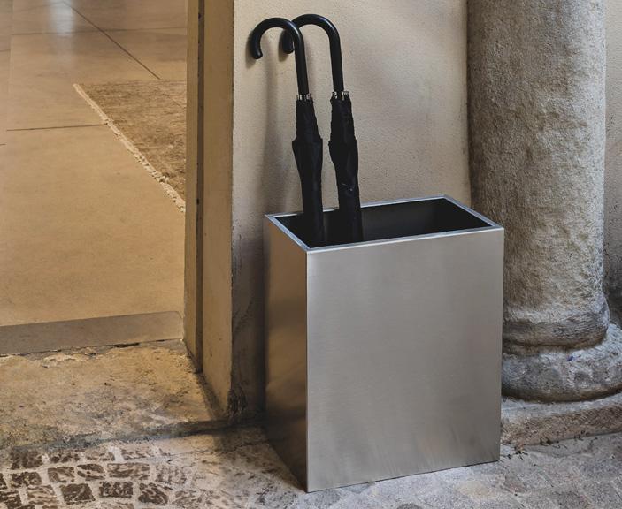 Design aus Stahl: geradlinig und schlicht
