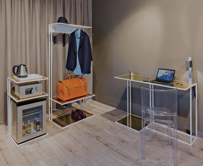 Einrichtung für Hotelzimmer