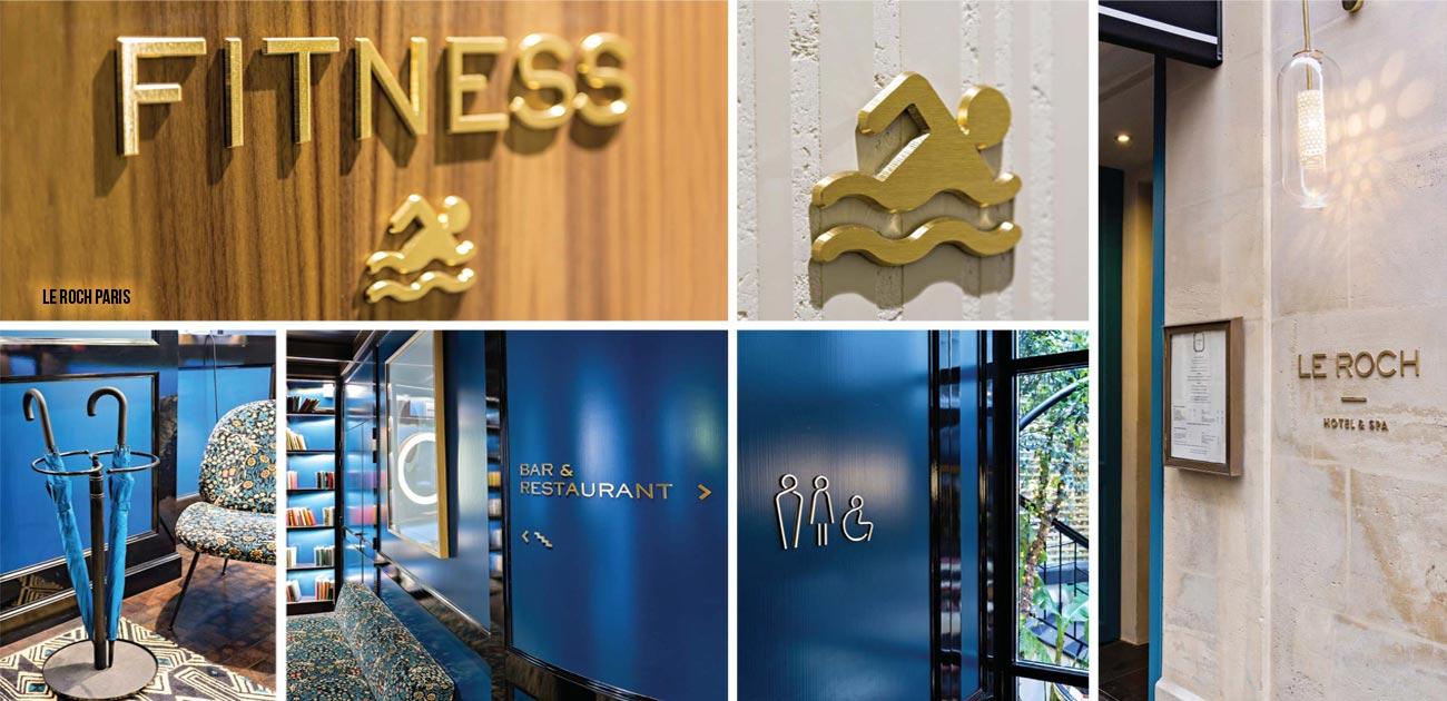 Hotelbedarf, Hotelbeschilderung und Hotelzubehör